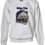 Bichon Frise 4th July Sweatshirt